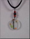 Clear Circular Necklace